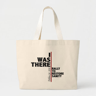 I was there sanity rally canvas bag
