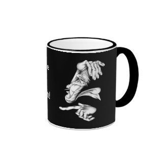 I Was There When It Went Down! Ringer Mug