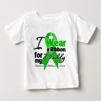 I Wear a Green Ribbon For My Daddy Baby T-Shirt