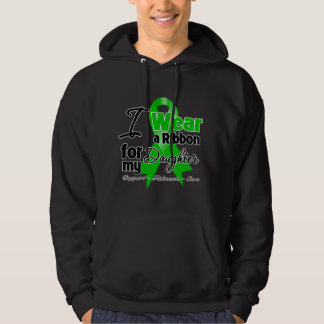 I Wear a Green Ribbon For My Daughter Sweatshirts