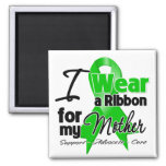 I Wear a Green Ribbon For My Mother Magnet