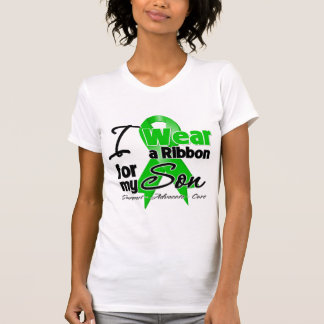 I Wear a Green Ribbon For My Son T-Shirt