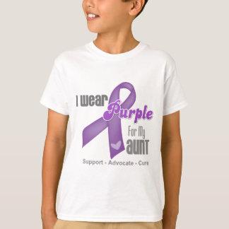 I Wear a Purple Ribbon For My Aunt Tshirts