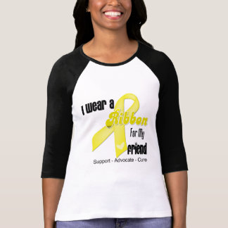 I Wear a Ribbon For My Friend - Sarcoma T-Shirt