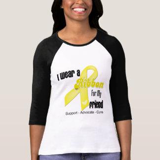 I Wear a Ribbon For My Friend - Sarcoma Tshirts
