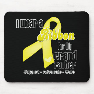 I Wear a Ribbon For My Grandfather - Sarcoma Mouse Pad