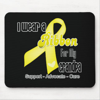 I Wear a Ribbon For My Grandpa - Sarcoma Mouse Pad