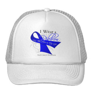 I Wear a Ribbon For My Hero - Anal Cancer Trucker Hat