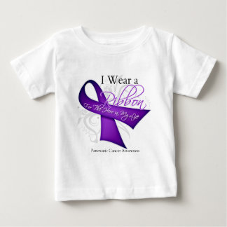 I Wear a Ribbon For My Hero - Pancreatic Cancer Tee Shirt