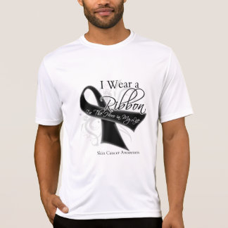 I Wear a Ribbon For My Hero - Skin Cancer Tees
