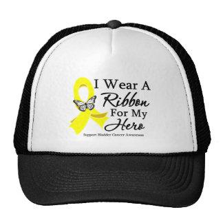 I Wear a Ribbon HERO Bladder Cancer Trucker Hat
