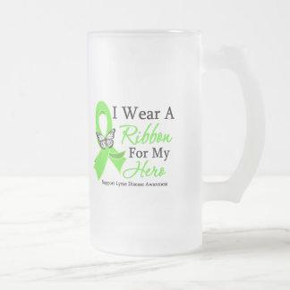 I Wear A Ribbon HERO Lyme Disease Coffee Mug