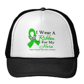I Wear A Ribbon HERO Traumatic Brain Injury Trucker Hat