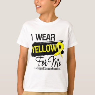 I Wear a Sarcoma Ribbon For Me T-Shirt