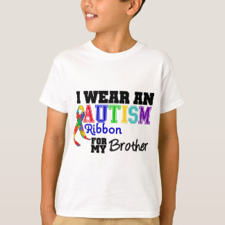 I Wear An Autism Ribbon For My Brother T-Shirt