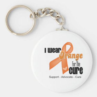 I Wear an Orange Ribbon For The Cure Key Chains