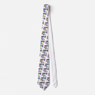 I Wear Autism Ribbon For My Son Tie