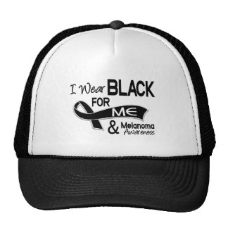 I Wear Black For Me 42 Melanoma Cap