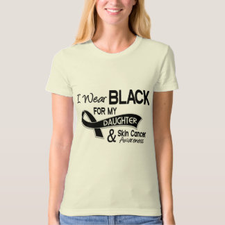 I Wear Black For My Daughter 42 Skin Cancer Tee Shirts
