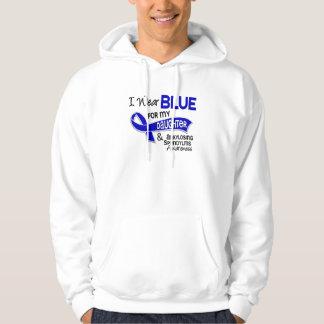 I Wear Blue Daughter 42 Ankylosing Spondylitis Hoodie