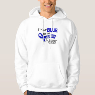 I Wear Blue Daughter 42 Ankylosing Spondylitis Sweatshirt