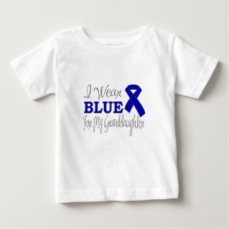 I Wear Blue For My Granddaughter (Blue Ribbon) T Shirt