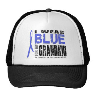 I wear blue for my grandkid hat