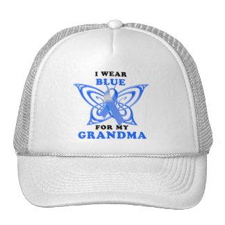 I Wear Blue for my Grandma Trucker Hats