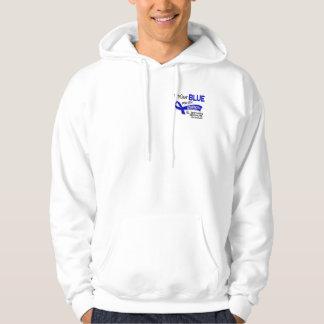 I Wear Blue For My Stepmom 42 Ankylosing Spondylit Hooded Sweatshirt