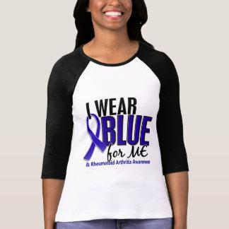 I Wear Blue Me Rheumatoid Arthritis RA Tee Shirts