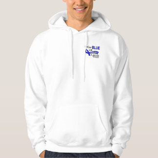 I Wear Blue Someone Special 42 Ankylosing Spondyli Hooded Sweatshirt