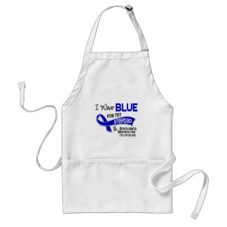 I Wear Blue Stepdad 42 Ankylosing Spondylitis Aprons