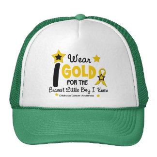 I Wear Gold For Bravest Boy 12 STAR VERSION Cap
