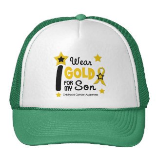 I Wear Gold For My Son 12 STAR VERSION Cap
