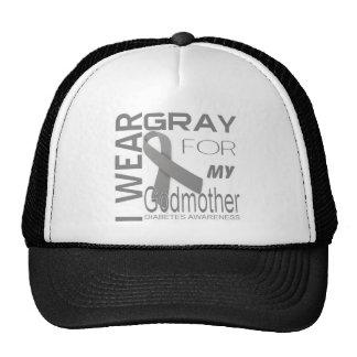 I wear gray for my Godmother Diabetes Awareness Trucker Hat