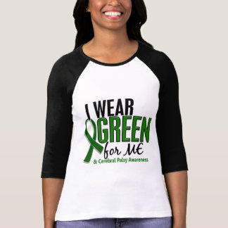 I Wear Green For ME 10 Cerebral Palsy Tee Shirts