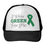 I Wear Green For Me (Green Awareness Ribbon)