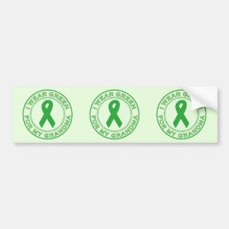 I Wear Green For My Grandma Bumper Sticker
