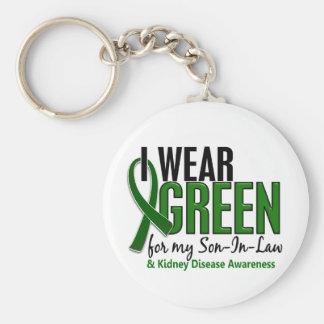 I Wear Green For My Son-In-Law 10 Kidney Disease Key Ring