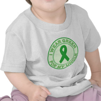 I Wear Green For My Uncle Tee Shirts