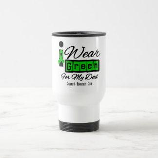 I Wear Green Ribbon (Retro) - Dad Mugs
