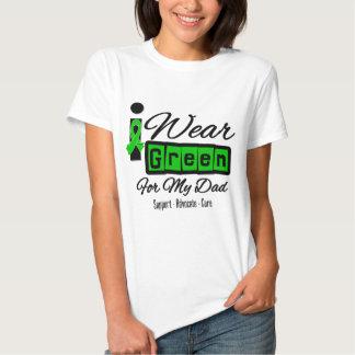 I Wear Green Ribbon (Retro) - Dad T-shirts
