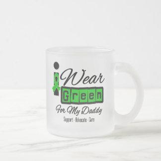 I Wear Green Ribbon (Retro) - Daddy Coffee Mug