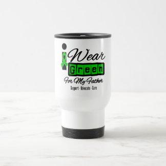 I Wear Green Ribbon (Retro) - Father Coffee Mugs