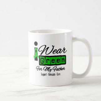 I Wear Green Ribbon (Retro) - Father Coffee Mug