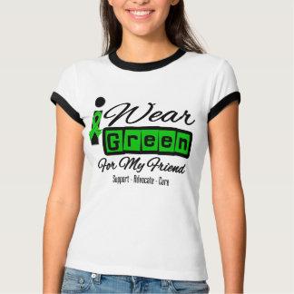 I Wear Green Ribbon (Retro) - Friend T Shirt