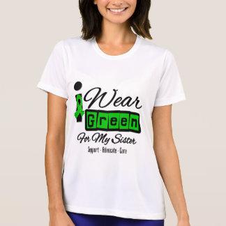 I Wear Green Ribbon (Retro) - Sister T Shirts