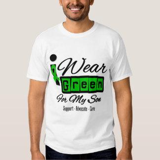 I Wear Green Ribbon (Retro) - Son Tshirt