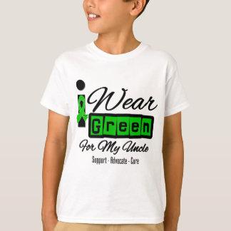 I Wear Green Ribbon (Retro) - Uncle T-Shirt