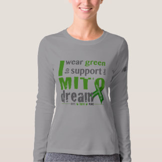 I wear green to support the Mito dream (NB) T-Shirt